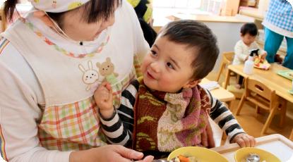 乳児クラス 給食