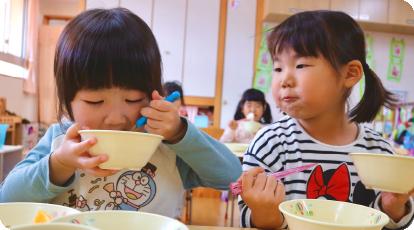 幼児クラス 給食